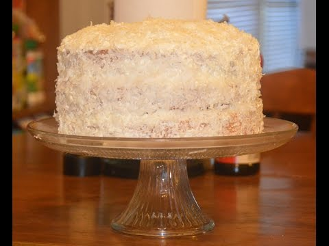 Recipe for a 3-Layer, Southern Style, Made from Scratch, Coconut Cake from Amber in VA