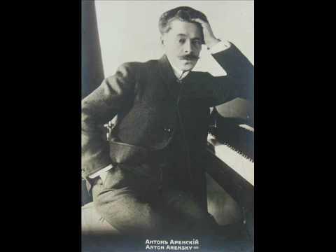 Arensky: Piano Quintet In D, Op. 51 - IV. Finale (Fuga), Allegro Moderato [part 4/4]