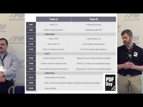 Introduction: What is PDF, who owns it and why it matters | Leonard Rosenthol & Duff Johnson
