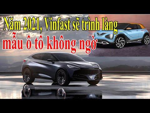 Năm 2021, Vinfast sẽ trình làng mẫu ô tô không ngờ