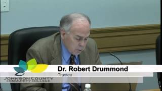 JCCC Board of Trustees Meeting for March 13, 2014