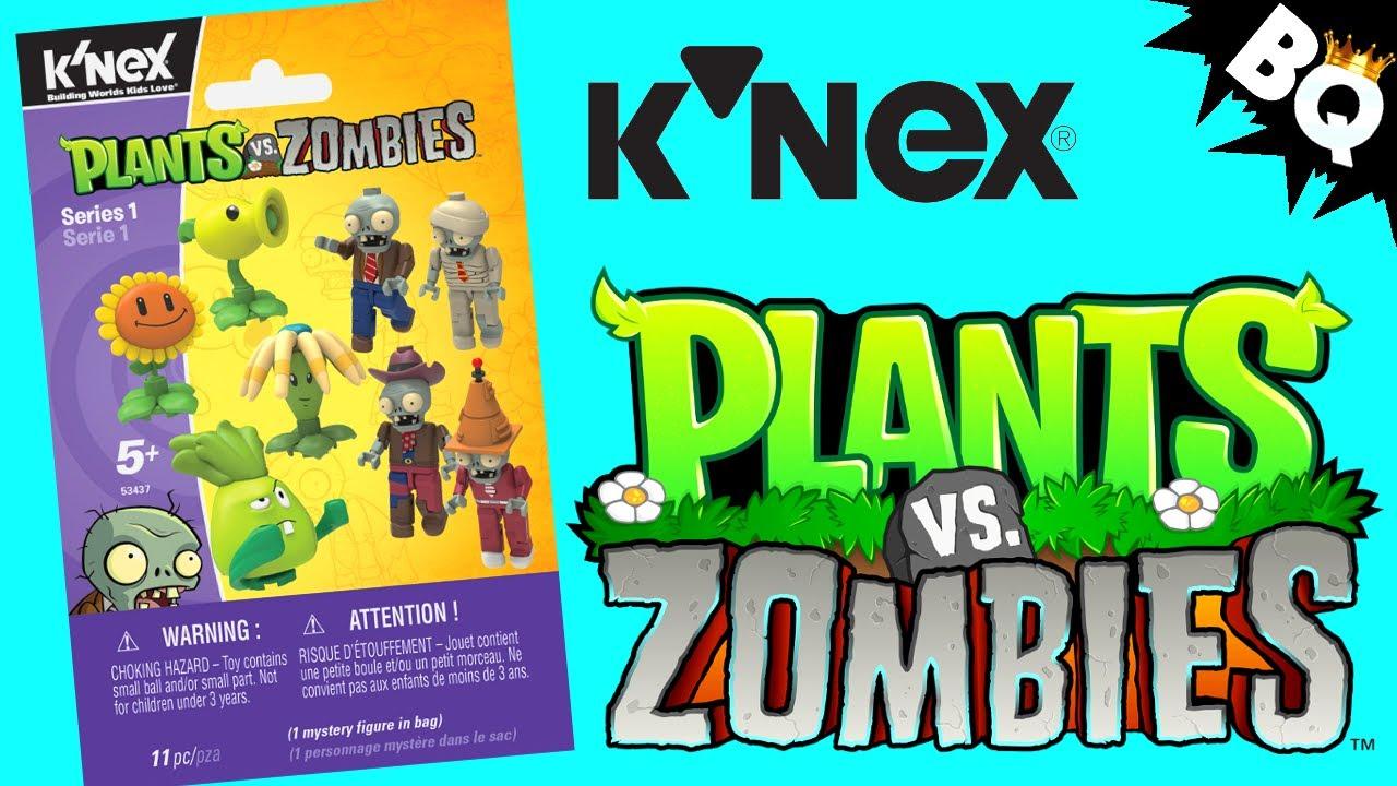KNEX Zombies VS Plants Series 1 CONE HEAD ZOMBIE Figure NEW