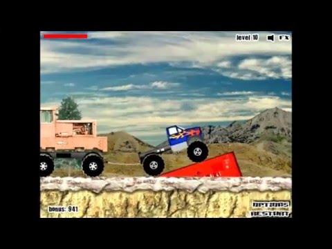 Игры онлайн грузовики по бездорожью