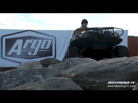Motoring TV Meets The Canadian-made Argo Amphibious ATV