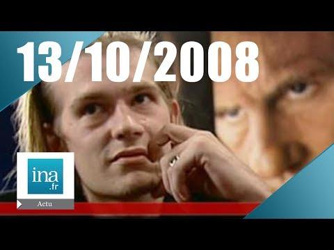 20h France 2 du 13 octobre 2008 - Guillaume Depardieu est mort - Archive INA