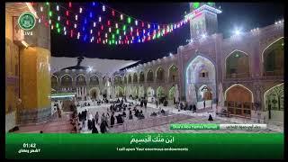 من حضره  الامام علي عليه السلام  دعاء أبي حمزة الثمالي  –  الشيخ عبدالحي آل قمبر