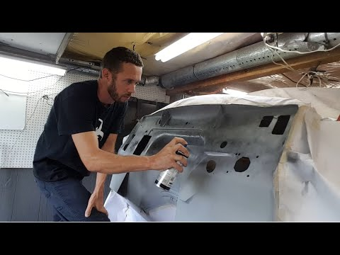 Repeat Tear Down and Start of fire wall work on F100 to Crown Vic