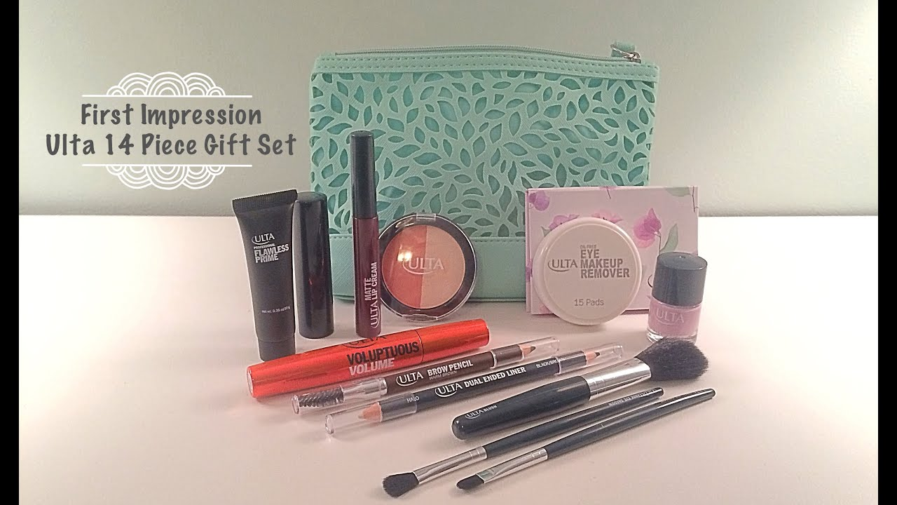 First Impression Ulta 14 Piece Gift Set - YouTube