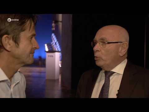 Michael van Praag over Sepp Blatter   Volle Zalen
