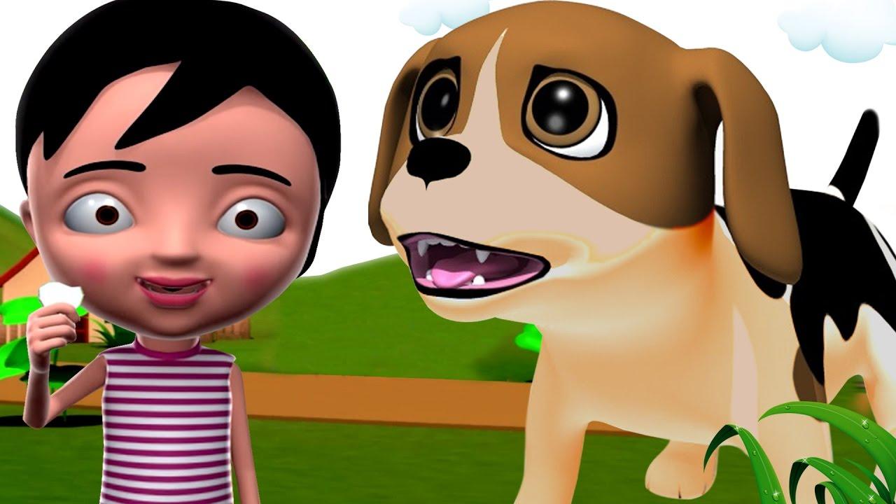Dog Nursery Rhymes in Tamil || Animal Nursery Rhymes ...