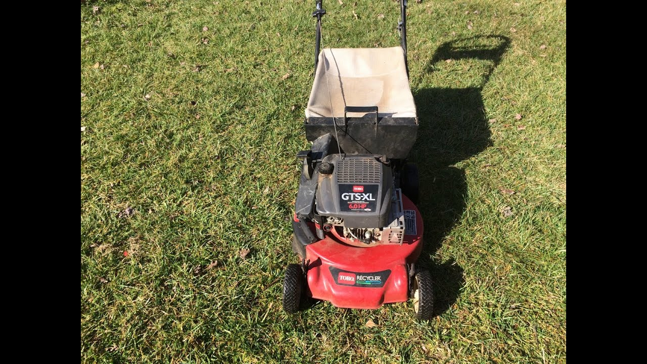 Toro Personal Pace Gts Xl 21 Quot Recycler Lawn Mower Model