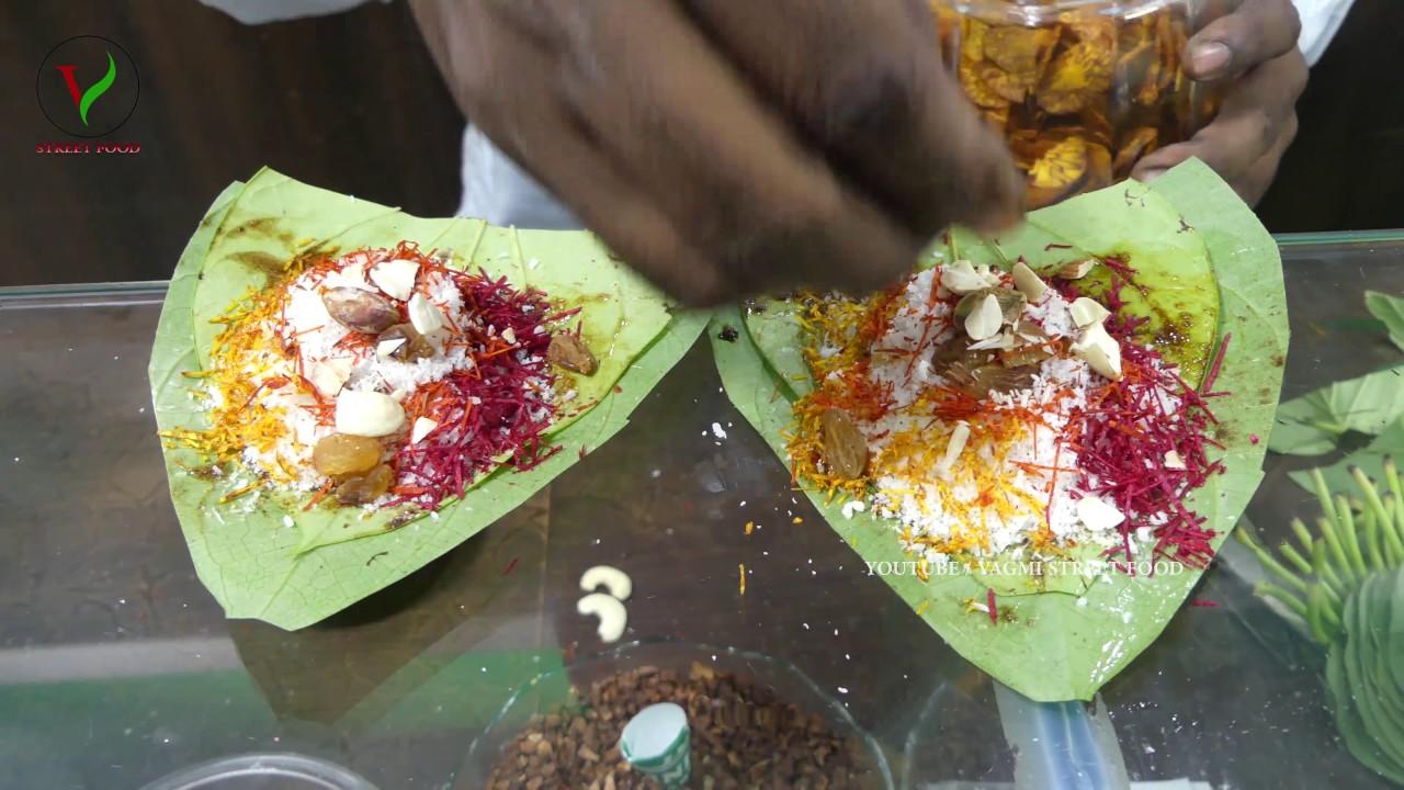 Dry Fruit Sweet Paan How To Make Kaju Meetha Paan Kaju
