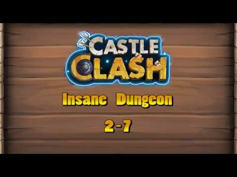 Castle Clash   Insane Dungeon 2   7 F2P