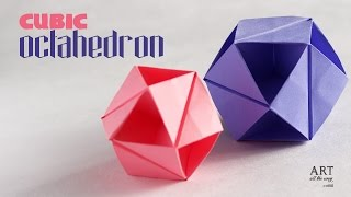 Modular Origami : Octahedron