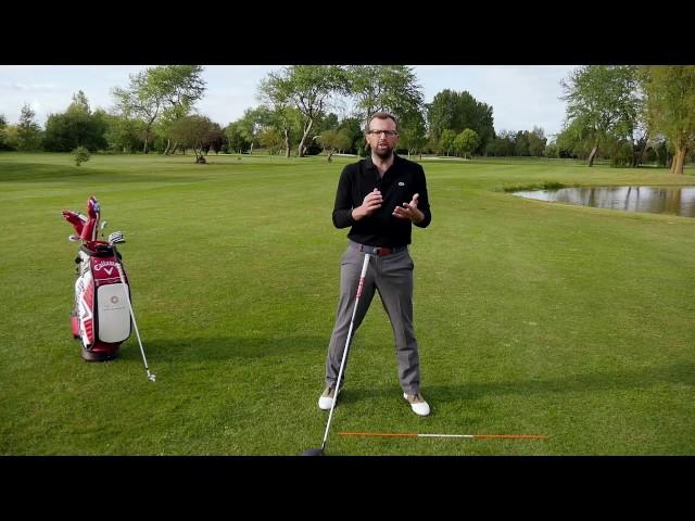 Votre leçon par PlayingGolf n°7: rotation et extension pour Anne-Marie!