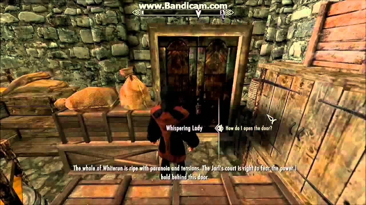 & Skyrim Daedric Q: The Whispering Door - YouTube