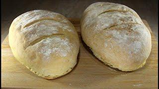 Деревенский хлеб с хрустящей корочкой