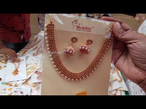 Imitation jewells cheapest price in street shop/sowcarpet மி