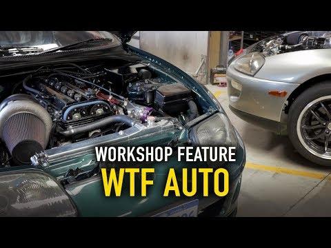 🔨 WTF Auto   HALTECH WORKSHOPS  