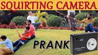 Water Squirting Camera Prank in India | First time in Hyderabad Prank | FunPataka