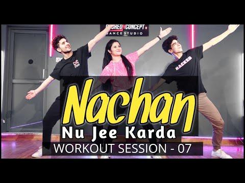 Nachan Nu Jee Karda | Angrezi Medium | Online Bollywood Workout | Choreo N Concept Dance Studio