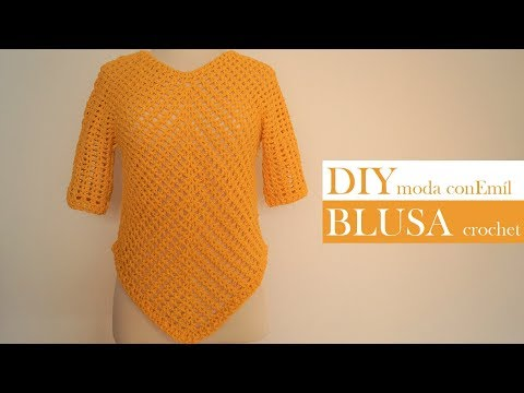 How to crochet sweater