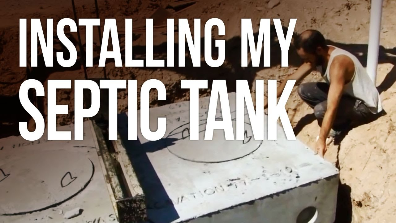 Installing My Septic Tank Youtube Wiring Diagram Control