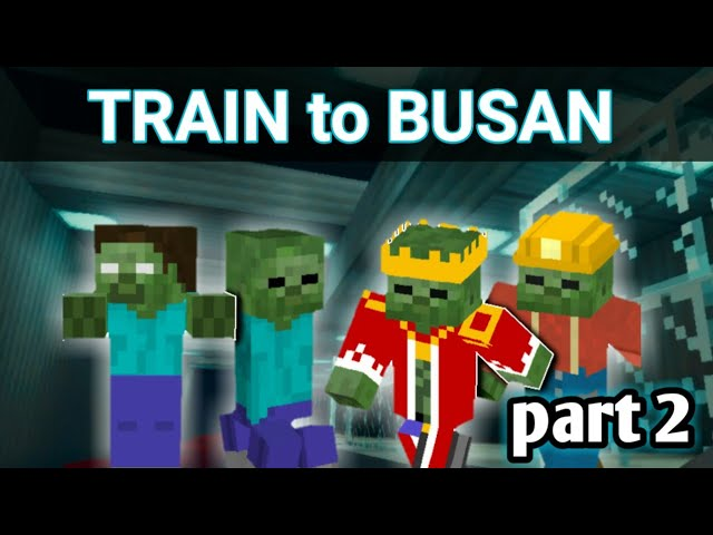 Mine Craft PE |Train to Busan part 2| meet hypebeast
