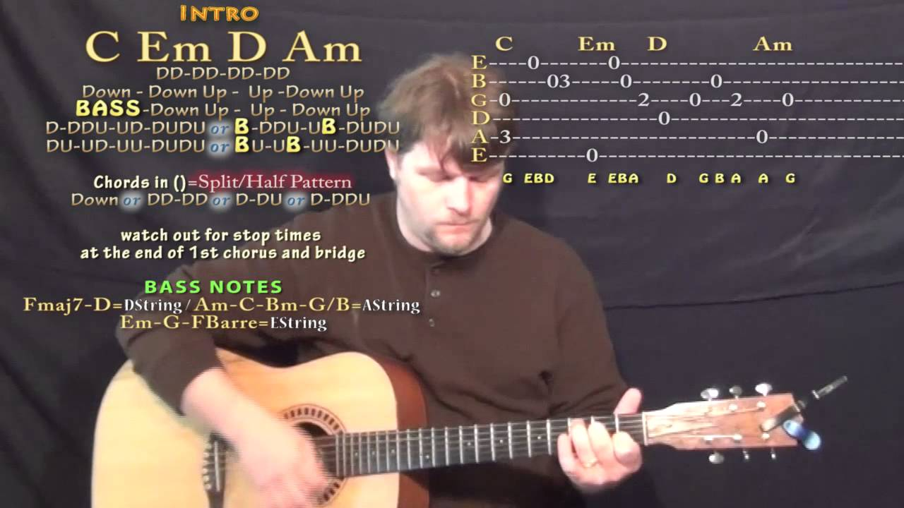 Run Away With Me Carly Rae Jepsen Guitar Lesson Chord Chart   Standard  Tuning