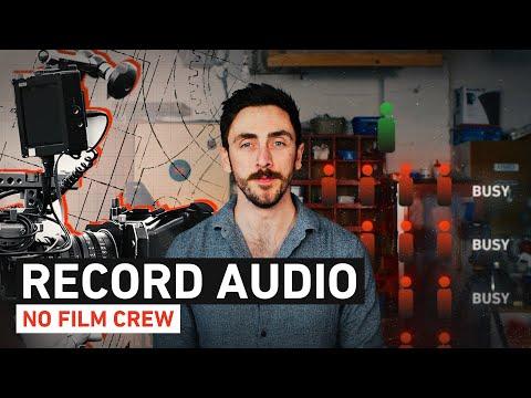 Tips on Recording Narrative Sound as a Solo Filmmaker | Shutterstock Tutorials