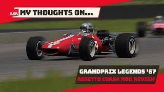 Assetto Corsa - Grand Prix Legends 1967 2.0 Mod Review