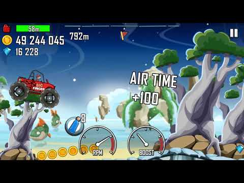 Hill Climb Racing - NEW MAP Prognosis 1.44.0 GamePlay