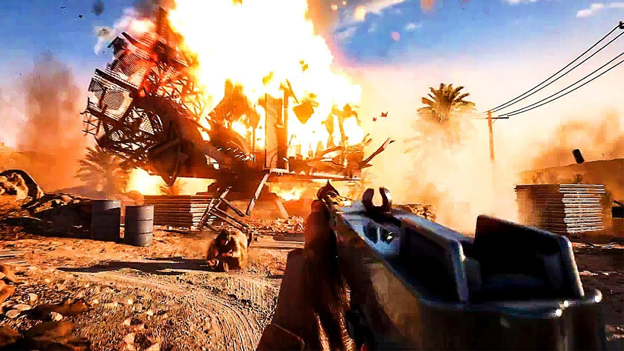 BATTLEFIELD 5 Mode Solo Bande Annonce (2018) Battlefield V PS4 / Xbox One / PC