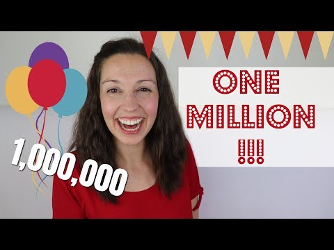 One Million Subscribers!!!! + Free GIVEAWAY