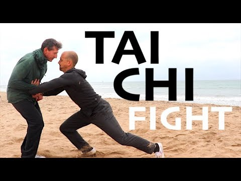 2 TAI CHI MASTERS FIGHT EACH OTHER!