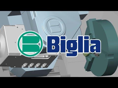 BIGLIA SMART TURN S Machine Tool CNC Simulation with NCSIMUL