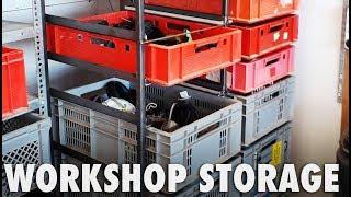 Modular Workshop Storage