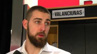 Raptors Post-Game: Jonas Valanciunas - May 5, 2016