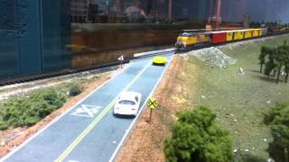 N Scale Trains With Up Power