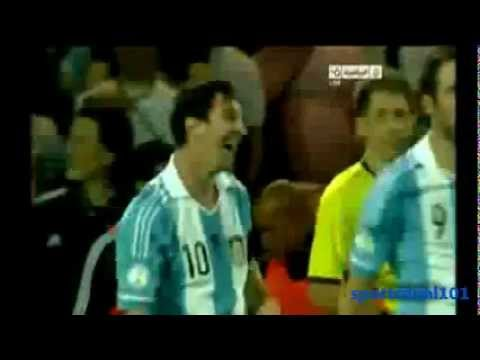 Argentina vs Uruguay 3-0 All Goals Messi Aguero & Highlights | World Cup 2014 Qualifiers 13-10-2012