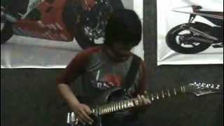 Penantian - Blackrose (guitar cover & solo ngimprove)