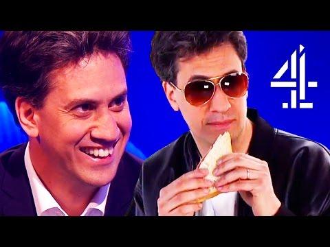 Ed Miliband DESTROYS David Cameron's Hot Dog Photo & Rebrands His Image #Milibacon | The Last Leg