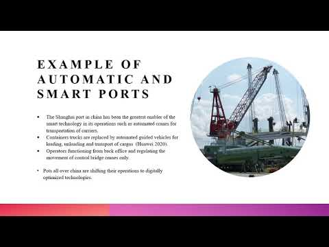 Impact of technology on operational risks in port management