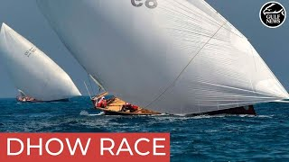 Highlights of the 30th Al Gaffal traditional dhow race in Dubai