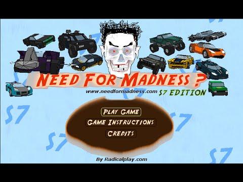 NEED FOR MADNESS S7 V2 Challenge Mode [Full?!]