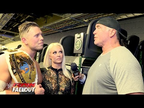 The Miz meets The Bad Guy: Raw Fallout, April 4, 2016