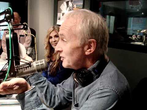 Anthony Daniels in studio as C3PO