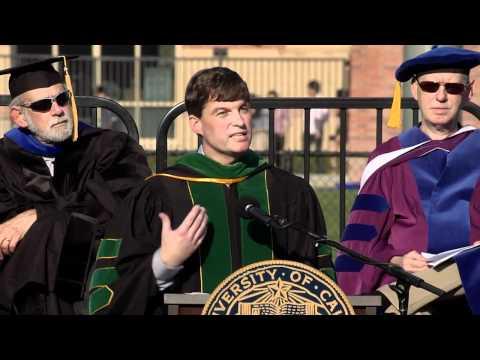 Dr. Michael J. Burry at UCLA Economics Commencement 2012
