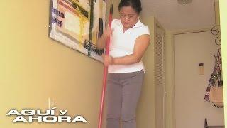 Empleadas domésticas denuncian quedar atrapadas en 'jaulas de oro'