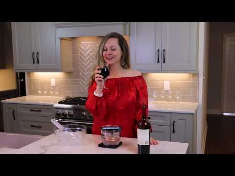 How to serve the perfect glass of wine in seconds
